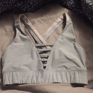 Sports bra with no padding